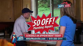 ARS Rescue Rooter TV Spot, '50 Dollars Off' - Thumbnail 3