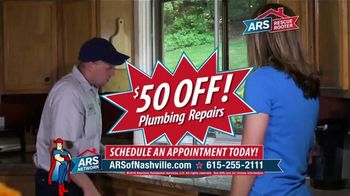 ARS Rescue Rooter TV Spot, '50 Dollars Off' - Thumbnail 4