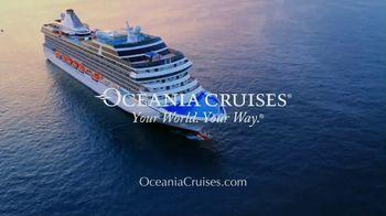 Oceania Cruises TV Spot, 'Cooking' - Thumbnail 10
