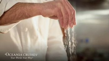 Oceania Cruises TV Spot, 'Cooking' - Thumbnail 2