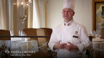 Oceania Cruises TV Spot, 'Cooking' - Thumbnail 3