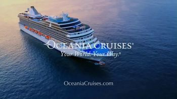 Oceania Cruises TV Spot, 'Cooking' - Thumbnail 9