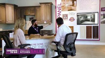 Cabinets To Go Annual Spring Kitchen Sale TV Spot, 'Dream Kitchen'