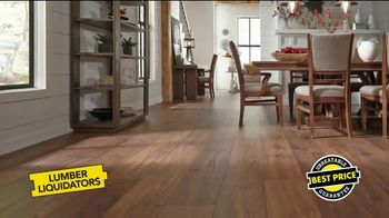Lumber Liquidators TV Spot, 'Spring Cleaning Flooring'