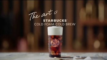 Starbucks Cold Foam Cold Brew TV Spot, 'Velvet' Song by Nicky Davey - Thumbnail 10
