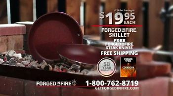 Forged in Fire Skillet TV Spot, 'Strong: Bonus Steak Knives and Cookbook' - Thumbnail 9