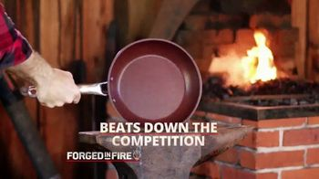 Forged in Fire Skillet TV Spot, 'Strong: Bonus Steak Knives and Cookbook'