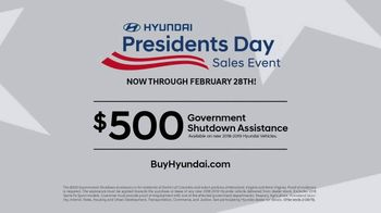 Hyundai Presidents Day Sales Event TV Spot, 'Making History' [T2] - Thumbnail 9