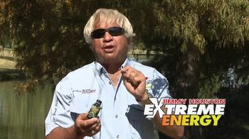 Jimmy Houston Extreme Energy TV Spot, 'Available at Bass Pro Shops and Walmart' - 4 commercial airings