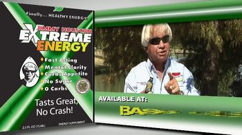 Jimmy Houston Extreme Energy TV Spot, 'Available at Bass Pro Shops and Walmart' - Thumbnail 10
