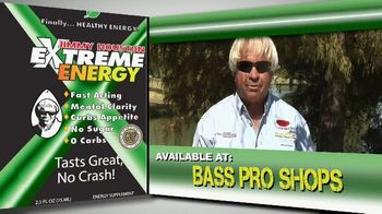 Jimmy Houston Extreme Energy TV Spot, 'Available at Bass Pro Shops and Walmart' - Thumbnail 8
