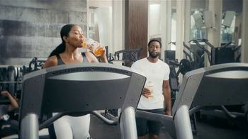 Gatorade Zero TV Spot, 'Keep Moving' Feat. Dwyane Wade, Gabrielle Union, Song by Missy Elliott