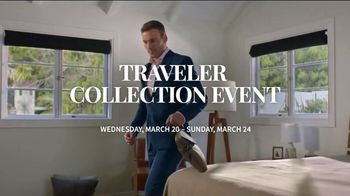 JoS. A. Bank Traveler Collection Event TV Spot, 'Shirts, Suits and BOGO'