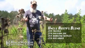 Backwoods Attraction TV Spot, 'Sportsman Channel: Custom Seed' Featuring Rusty Wascom - Thumbnail 5