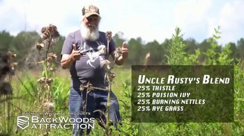 Backwoods Attraction TV Spot, 'Sportsman Channel: Custom Seed' Featuring Rusty Wascom - Thumbnail 6