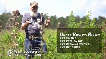 Backwoods Attraction TV Spot, 'Sportsman Channel: Custom Seed' Featuring Rusty Wascom - Thumbnail 7