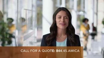 Amica Mutual Insurance Company TV Spot, 'Enthusiastic Recommendations' - Thumbnail 6