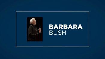 Spectrum TV Spot, 'Women's History Month: Barbara Bush' - Thumbnail 4
