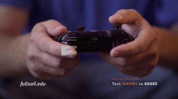 Full Sail University TV Spot, 'Games' - Thumbnail 1