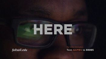 Full Sail University TV Spot, 'Games' - Thumbnail 10