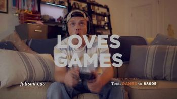 Full Sail University TV Spot, 'Games' - Thumbnail 2