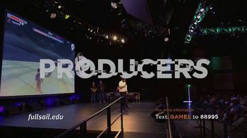 Full Sail University TV Spot, 'Games' - Thumbnail 6