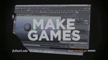 Full Sail University TV Spot, 'Games' - Thumbnail 9