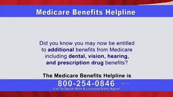 Medicare Benefits Helpline TV Spot, 'The Benefits You Deserve' - Thumbnail 2