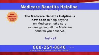 Medicare Benefits Helpline TV Spot, 'The Benefits You Deserve' - Thumbnail 3