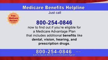 Medicare Benefits Helpline TV Spot, 'The Benefits You Deserve'