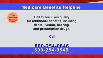 Medicare Benefits Helpline TV Spot, 'The Benefits You Deserve' - Thumbnail 7