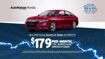 AutoNation 72 Hour Flash Sale TV Spot, '2019 Honda Accord' - Thumbnail 3