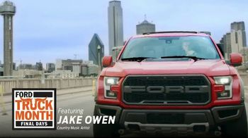 Ford Truck Month TV Spot, 'The One and Only' Featuring Jake Owen [T2] - Thumbnail 1