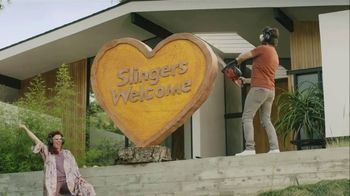 Sling TV Spot, 'Statue: Discovery' Featuring Nick Offerman, Megan Mullally - Thumbnail 7
