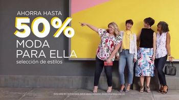 JCPenney Spring Collection TV Spot, 'Mirate ahora: cupón' [Spanish] - Thumbnail 4
