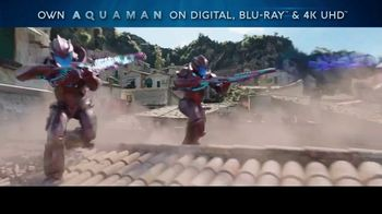Aquaman Home Entertainment TV Spot - Thumbnail 1