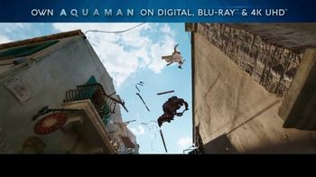 Aquaman Home Entertainment TV Spot - Thumbnail 2