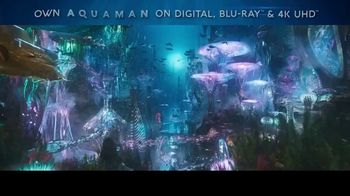 Aquaman Home Entertainment TV Spot - 1789 commercial airings