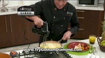 Gotham Steel Diamond Pan TV Spot, 'Nothing Sticks'