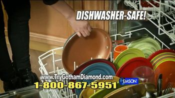 Gotham Steel Diamond Pan TV Spot, 'Nothing Sticks' - Thumbnail 9