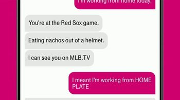T-Mobile TV Spot, 'Free MLB.TV Subscription' Song by Loverboy - Thumbnail 6