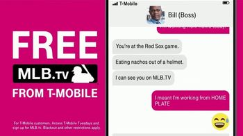 T-Mobile TV Spot, 'Free MLB.TV Subscription' Song by Loverboy - Thumbnail 7