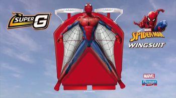 Super G Spider-Man Wingsuit TV Spot, 'Spectacular Stunts' - Thumbnail 6