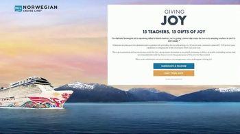 Norwegian Cruise Line TV Spot, 'Giving Joy: Deserving Teachers' - Thumbnail 8