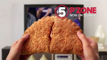 Pizza Hut $5 P'Zone TV Spot, 'Cure Your March Madness Sadness' - Thumbnail 5