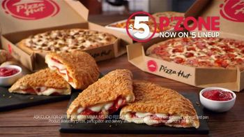 Pizza Hut $5 P'Zone TV Spot, 'Cure Your March Madness Sadness' - Thumbnail 7