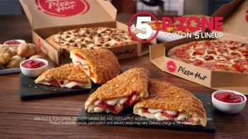 Pizza Hut $5 P'Zone TV Spot, 'Cure Your March Madness Sadness' - Thumbnail 8
