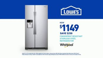 Lowe's TV Spot, 'Happy Hunting: Whirlpool Refrigerator' - Thumbnail 9