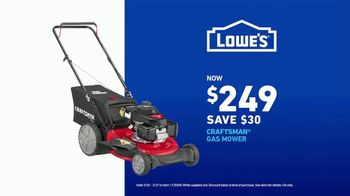 Lowe's TV Spot, 'Do It Wright Playbook: Craftsman Gas Mower' Featuring Jay Wright - Thumbnail 6
