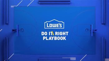 Lowe's TV Spot, 'Do It Wright Playbook: Craftsman Gas Mower' Featuring Jay Wright - Thumbnail 1